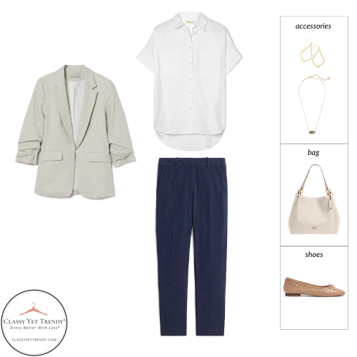 Teacher Capsule Wardrobe Summer 2021 - outfit 19