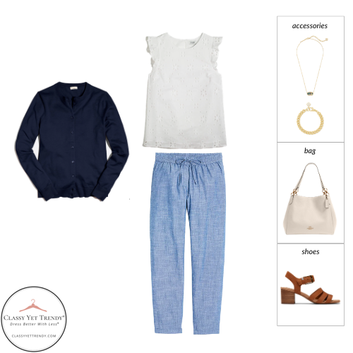Teacher Capsule Wardrobe Summer 2021 - outfit 82