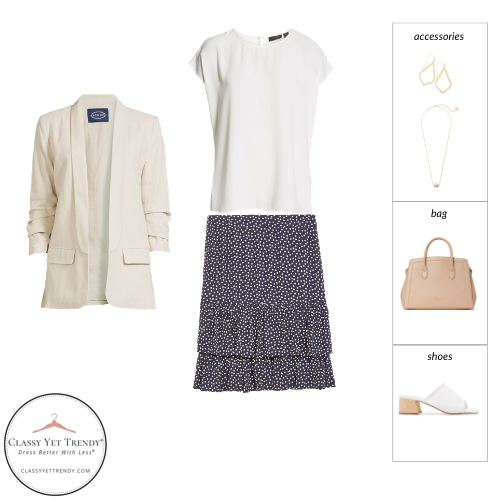 Workwear Capsule Wardrobe Summer 2021 - outfit 20