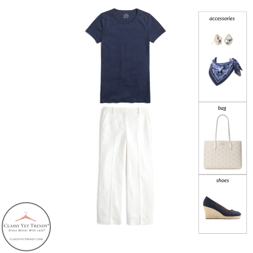 Workwear Capsule Wardrobe Summer 2021 - outfit 31