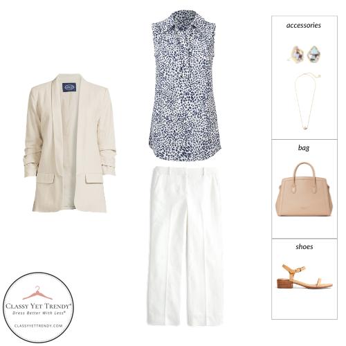 Workwear Capsule Wardrobe Summer 2021 - outfit 42