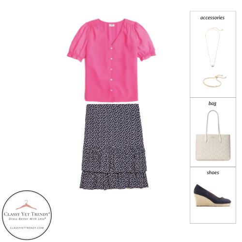 Workwear Capsule Wardrobe Summer 2021 - outfit 58