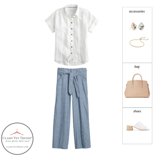 Workwear Capsule Wardrobe Summer 2021 - outfit 73