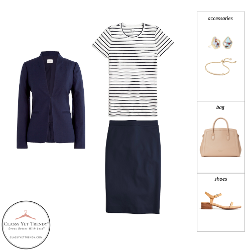 Workwear Capsule Wardrobe Summer 2021 - outfit 79