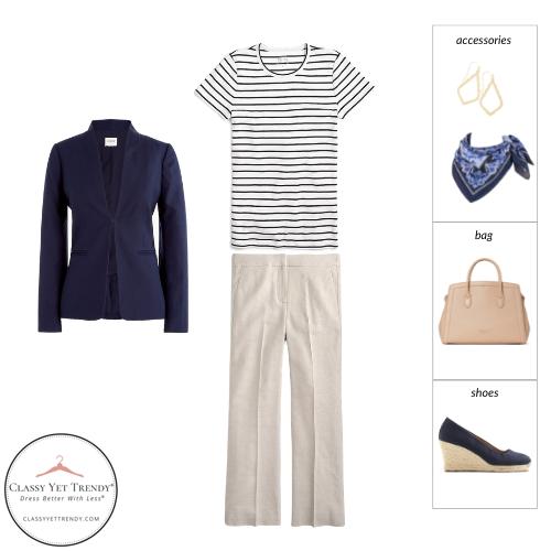Workwear Capsule Wardrobe Summer 2021 - outfit 85