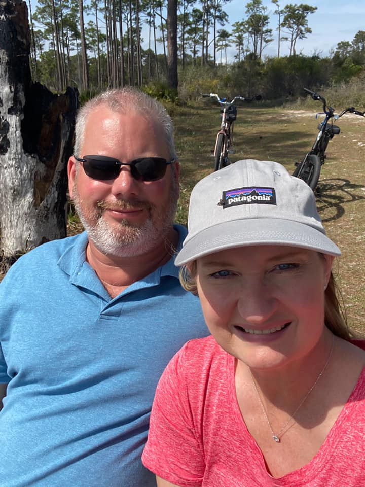 Danny and Me Bike Ride Top Sail Campground
