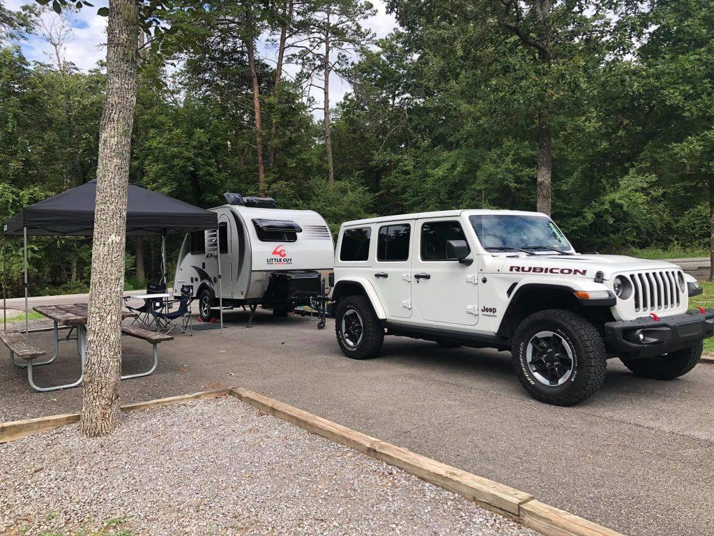 Desoto State Park Campsite