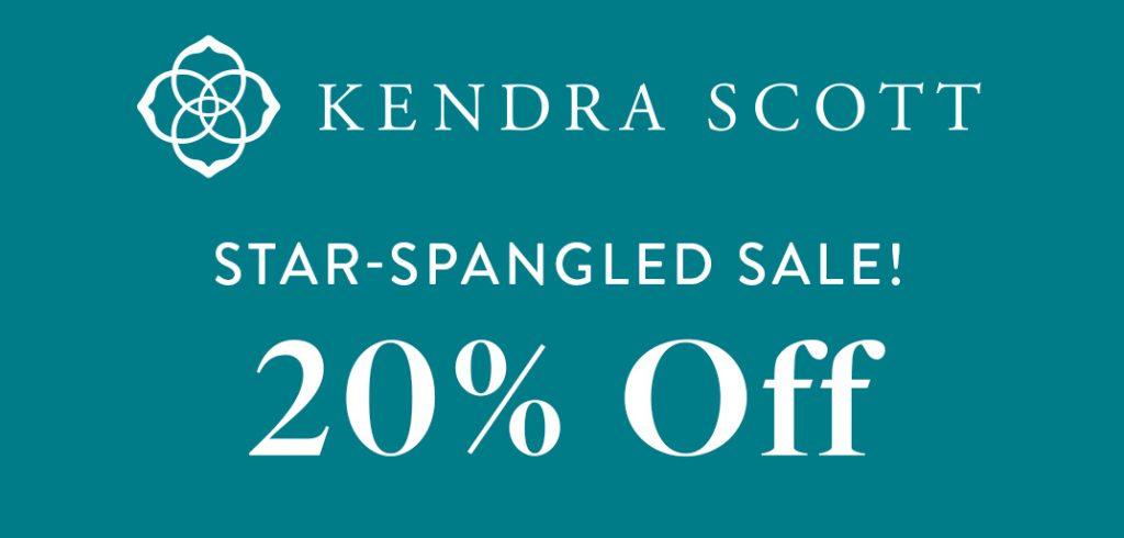 Kendra Scott Star Spangled Sale 2021 banner