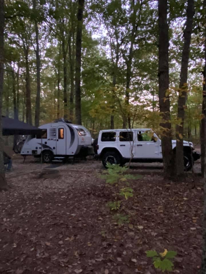 Monte Sano State Park campsite