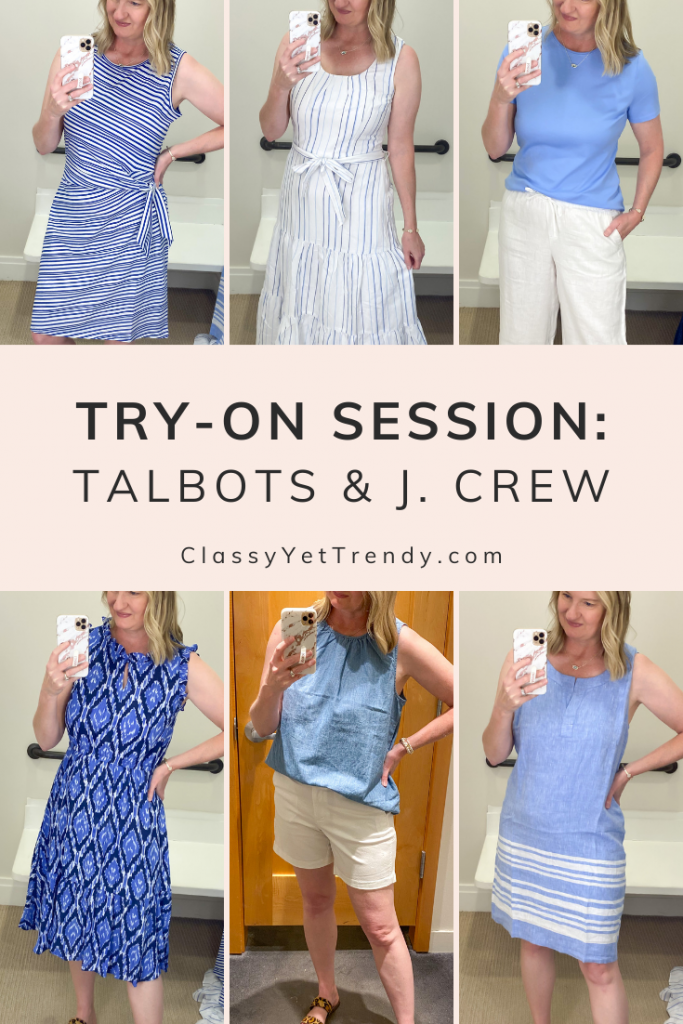 Talbots J Crew Try-On Session Review June 2021