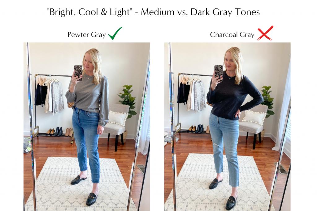 Color Analysis - Gray Tones
