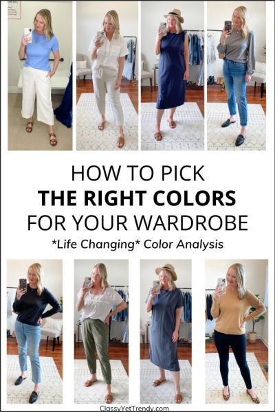 How To Pick The Right Colors For Your Wardrobe Easy Color Analysis