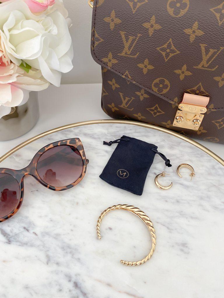 Mejuri Jewelry July 2021 - flatlay fashion