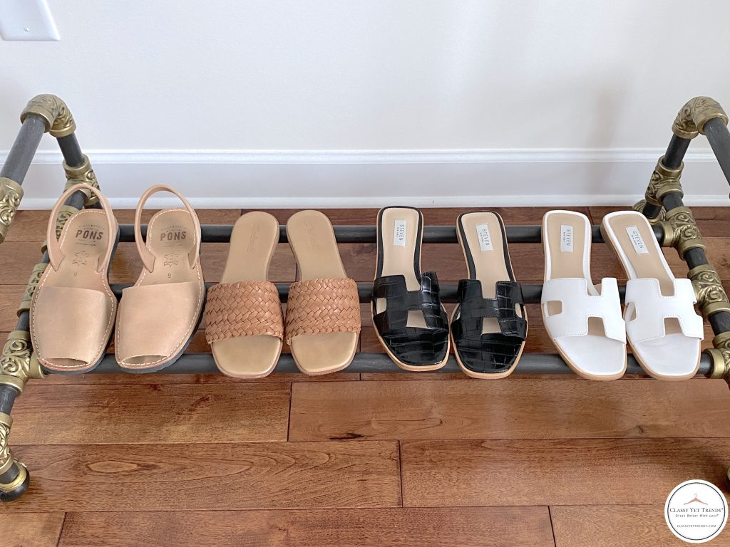 My 25 Piece Summer 2021 Neutral Capsule Wardrobe - shoes