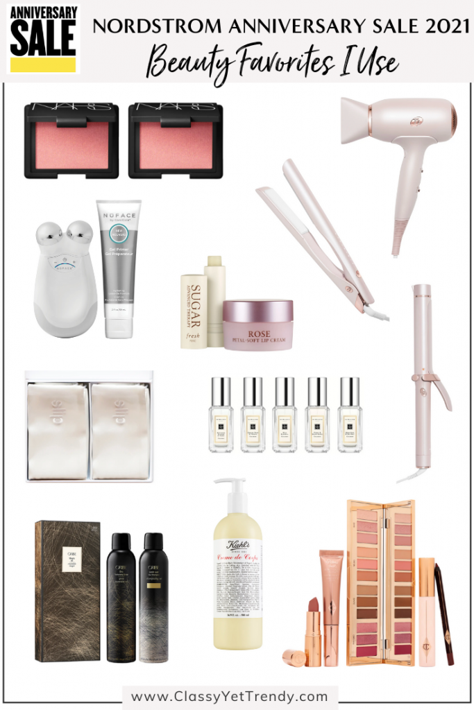 Nordstrom Anniversary Sale 2021 - Beauty Favorites I Use Daily
