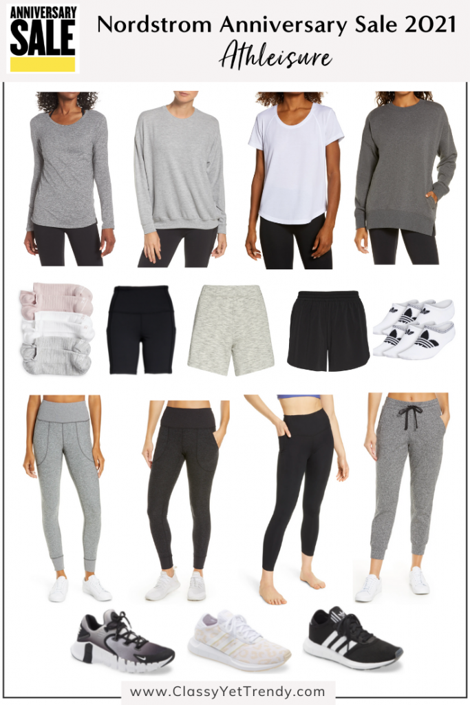 Nordstrom Anniversary Sale 2021 Capsule Wardrobe Essentials - Athleisure