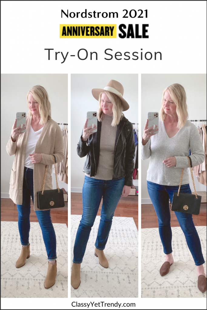 Nordstrom Anniversary Sale 2021 Try-On Session Outfit Trio
