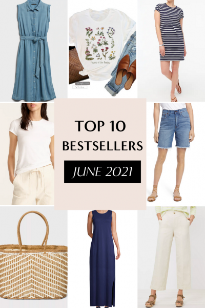 TOP 10 BESTSELLERS FOR MONTH - JUNE 2021