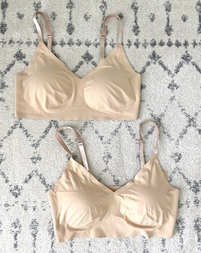 True and Co bralettes