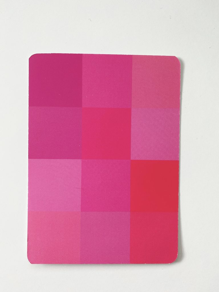 Your Color Style Blushing Card Bright Cool Light