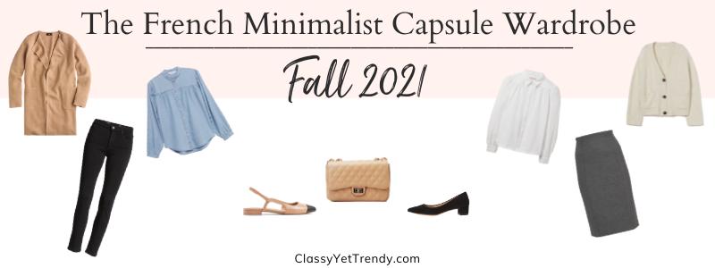 BANNER 800X300 - The French Minimalist Capsule Wardrobe - Fall 2021