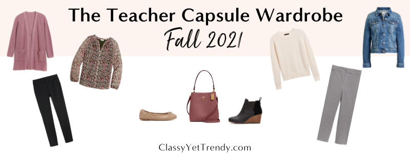 BANNER 800X300 - The Teacher Capsule Wardrobe - Fall 2021