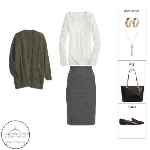 Essential Capsule Wardrobe Fall 2021 - outfit 90