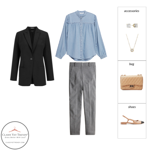 French Minimalist Capsule Wardrobe Fall 2021 - outfit 65