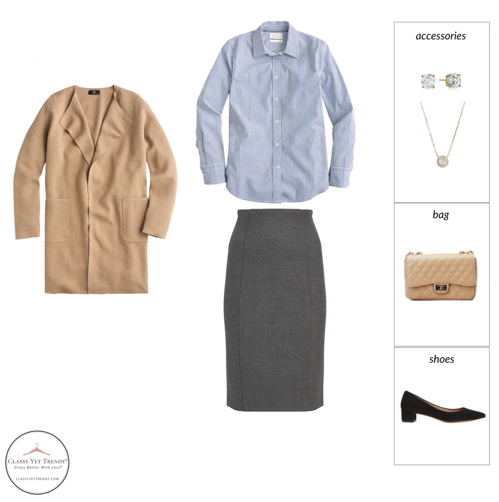 French Minimalist Capsule Wardrobe Fall 2021 - outfit 85 v1