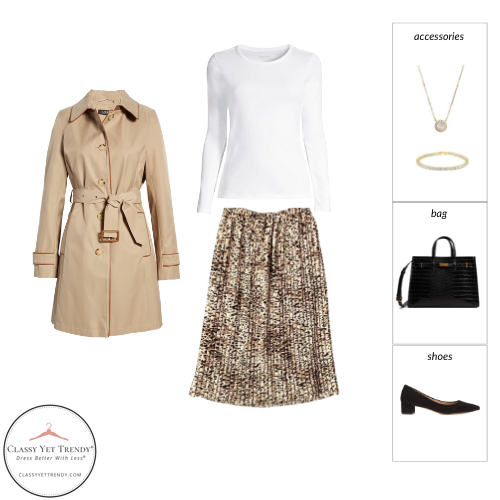 French Minimalist Capsule Wardrobe Fall 2021 - outfit 99