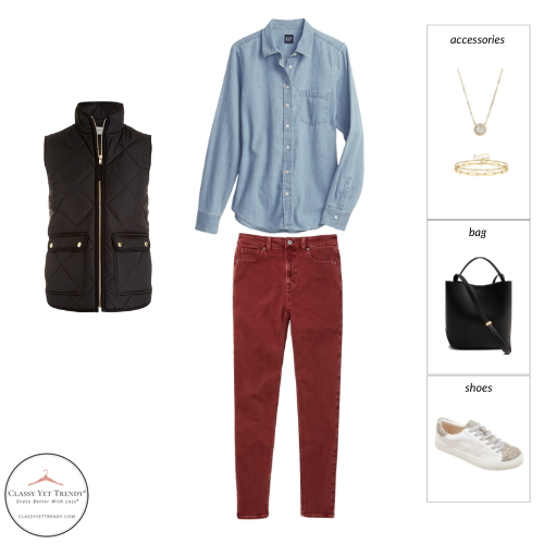 STAY AT HOME MOM CAPSULE WARDROBE FALL 2021 - OUTFIT 84