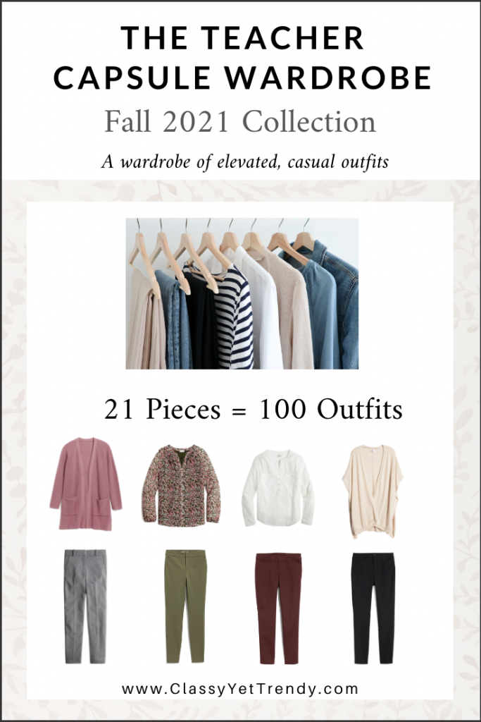 Teacher Capsule Wardrobe Fall 2021 cover