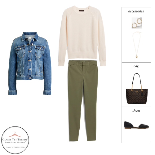 The Teacher Capsule Wardrobe - Fall 2021 Collection - outfit 33