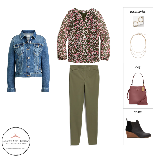 The Teacher Capsule Wardrobe - Fall 2021 Collection - outfit 43