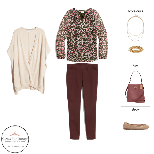 The Teacher Capsule Wardrobe - Fall 2021 Collection - outfit 52