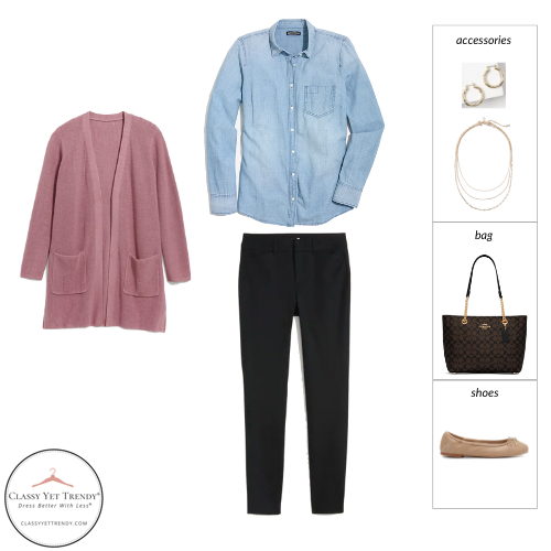 The Teacher Capsule Wardrobe - Fall 2021 Collection - outfit 74