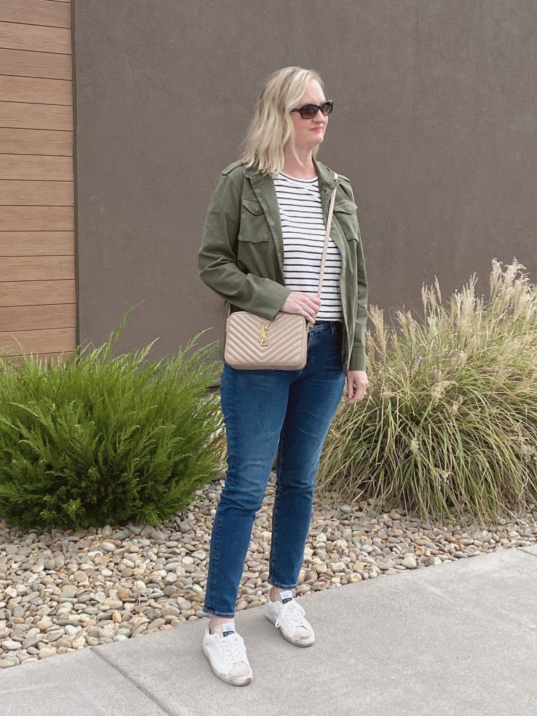 10-PIECE TRAVEL CAPSULE WARDROBE - WHAT I WORE DAY2