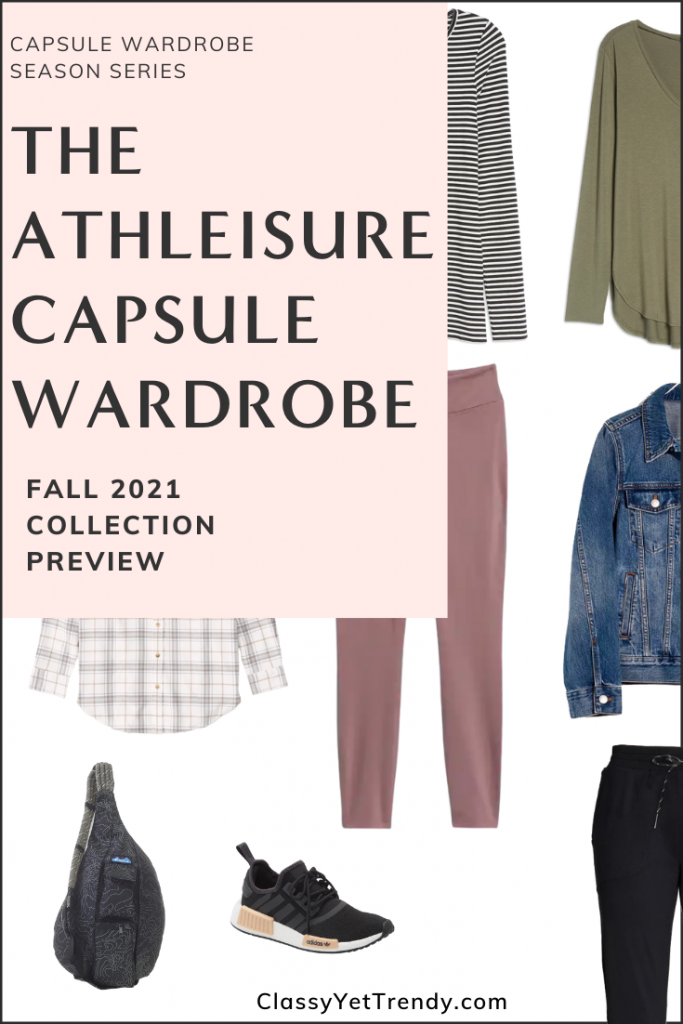 Athleisure Capsule Wardrobe Fall 2021 Sneak Peek Pin2