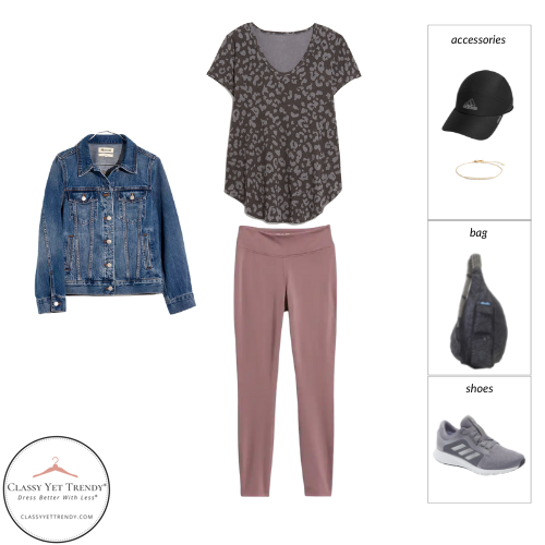 Athleisure Capsule Wardrobe Fall 2021 - outfit 15