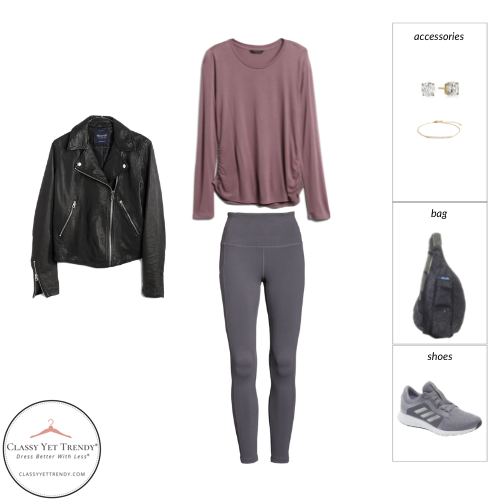 Athleisure Capsule Wardrobe Fall 2021 - outfit 33