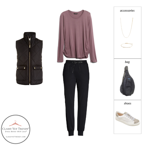 Athleisure Capsule Wardrobe Fall 2021 - outfit 40