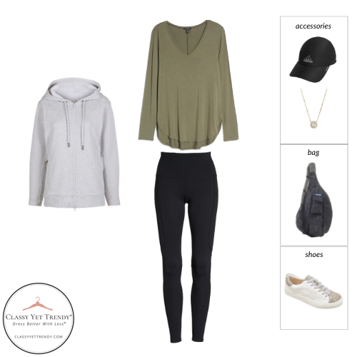 Athleisure Capsule Wardrobe Fall 2021 - outfit 66