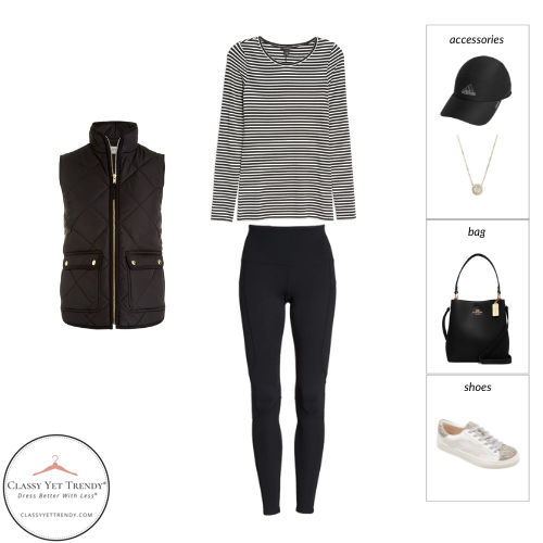 Athleisure Capsule Wardrobe Fall 2021 - outfit 8