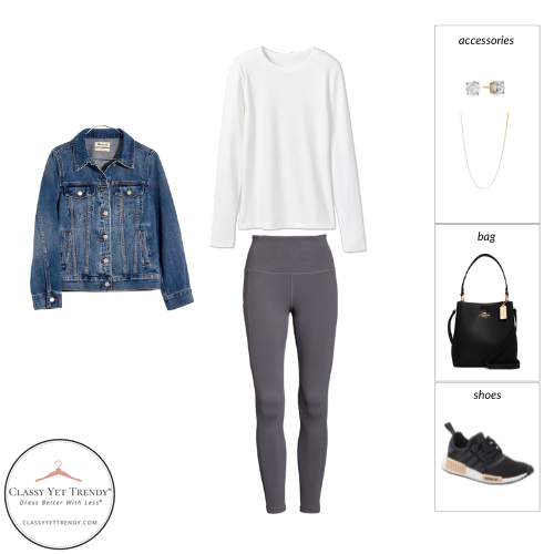 Athleisure Capsule Wardrobe Fall 2021 - outfit 92