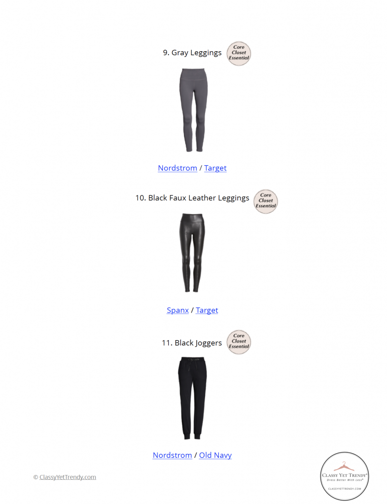Athleisure Capsule Wardrobe Fall 2021 - pg 17