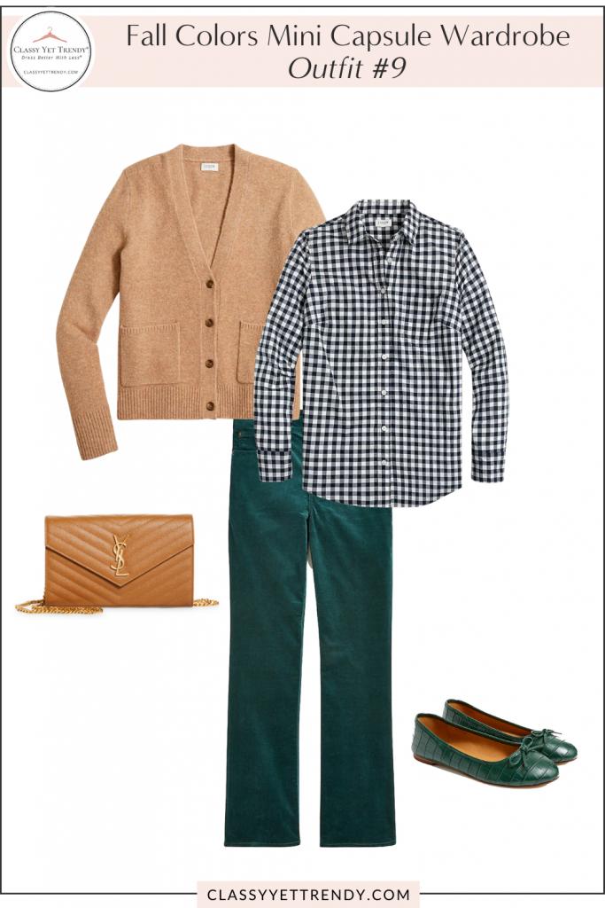 Fall Colors Mini Capsule Wardrobe - Outfit 9