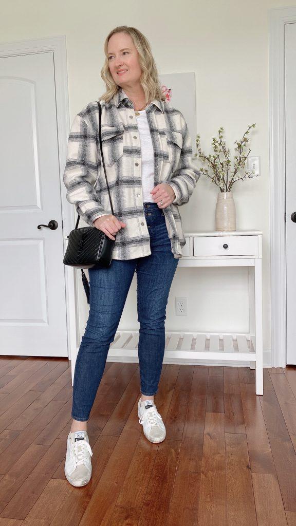 How To Wear A Shirt Jacket Shacket 1