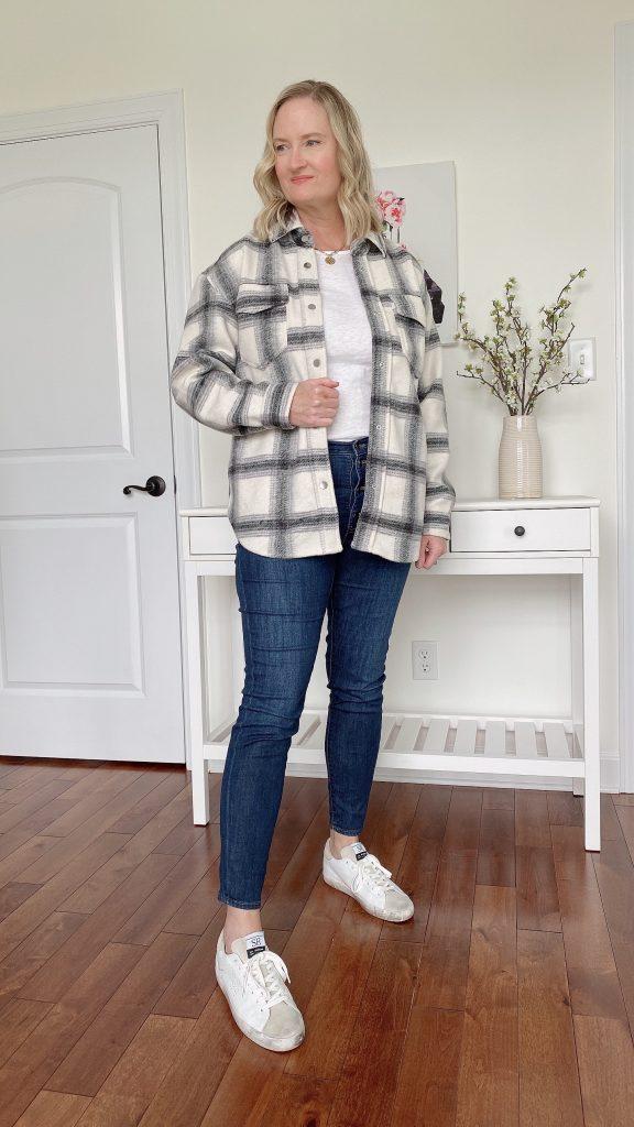 How To Wear A Shirt Jacket Shacket 2