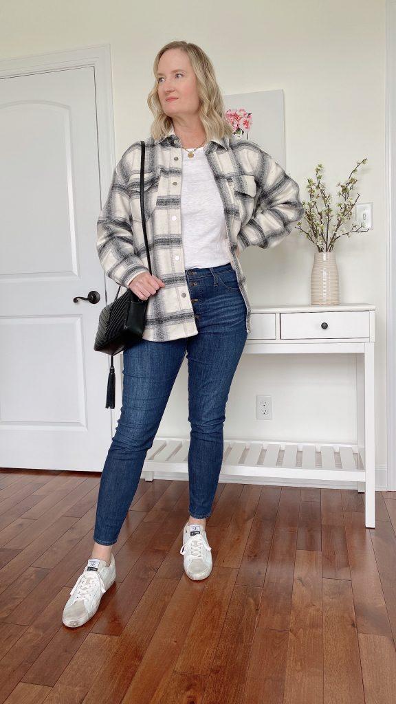 How To Wear A Shirt Jacket Shacket 5