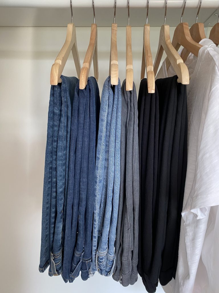 My 29-Piece Neutral Fall 2021 Capsule Wardrobe - bottoms jeans pants
